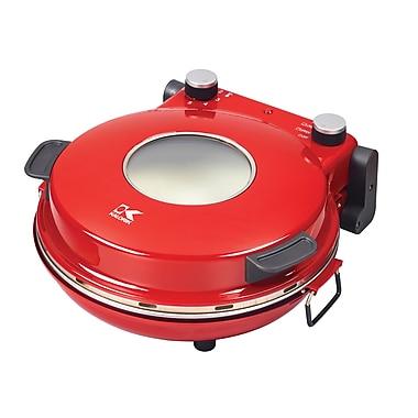 Kalorik – Four pizza à pierre à chaleur élevée, rouge (PZM 43618 R)
