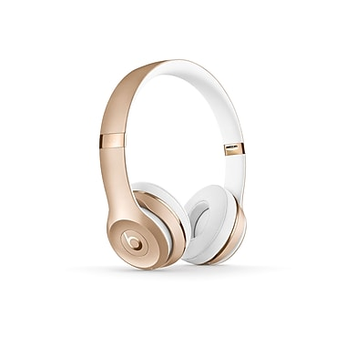 Beats - Casque d'écoute Solo3 Bluetooth supra-auriculaire, or (MNER2LL/A)