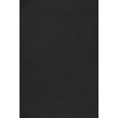 Lux Cardstock 12 x 18 inch Black Linen 1000/Pack