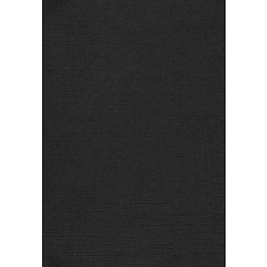 Lux Cardstock 13 x 19 inch Black Linen 500/pack