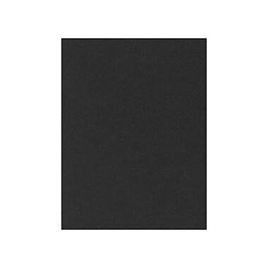 LUX Cardstock 8.5 x 11 inch, Black Linen, 250/Pack (81211-C-BLI-250)