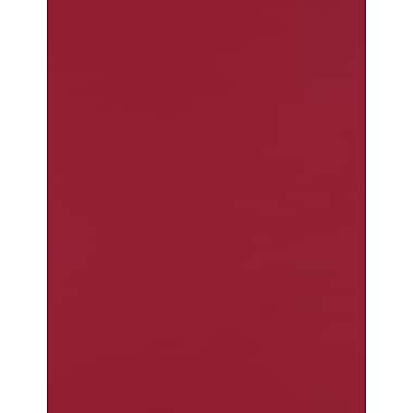 LUX Papers 8.5 x 11 inch, Garnet, 50/Pack (81211-P-101-50)