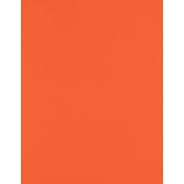 LUX Paper 8.5 x 11 inch 80 lbs., Tangerine, 500/Pack (81211-P-112-500)