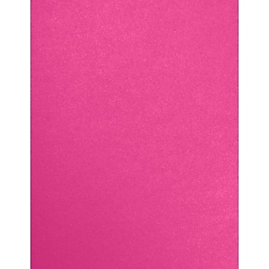 LUX Paper 8.5 x 11 inch 80 lbs., Azalea Metallic, 500/Pack (81211-P-07-500)