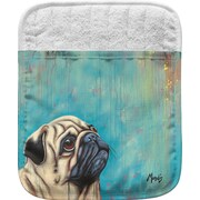 Live Free Pug Pocket Mitt Potholder (Set of 2)