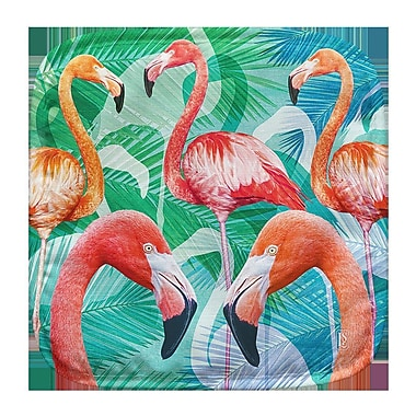 Live Free Flamingos Potholder (Set of 2)