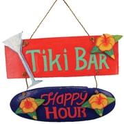 Bay Isle Home Contemporary Tiki Bar/Happy Hour Wall D cor
