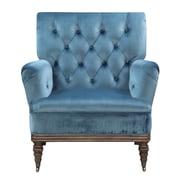 Everly Quinn Botsford Armchair; Marine Blue