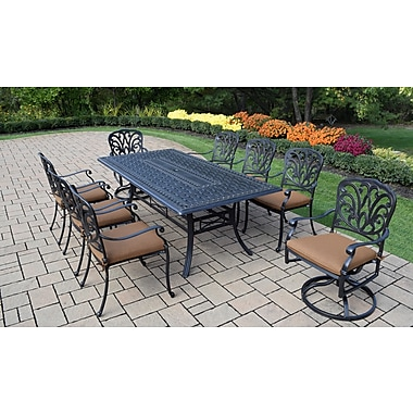 Darby Home Co Bosch Outdoor 9 Piece Dining Set w/ Cushions