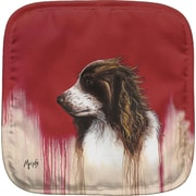 Live Free Brittany Spaniel Potholder (Set of 2)