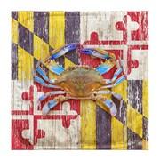 Live Free Crab Potholder (Set of 2)