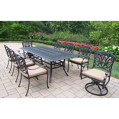 Darby Home Co Bosch 9 Piece Dining Set w/ Cushions
