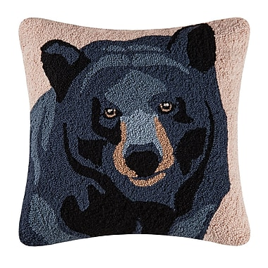 Loon Peak Navajo In the Woods Bear Throw Pillow