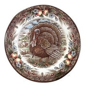 The Holiday Aisle Turkey 7.13'' Bread and Butter Plate