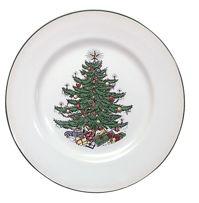 The Holiday Aisle Original Christmas Tree Traditional 20 Piece Place Setting WYF078281432070