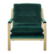 Mercer41  Heanor Armchair; Emerald