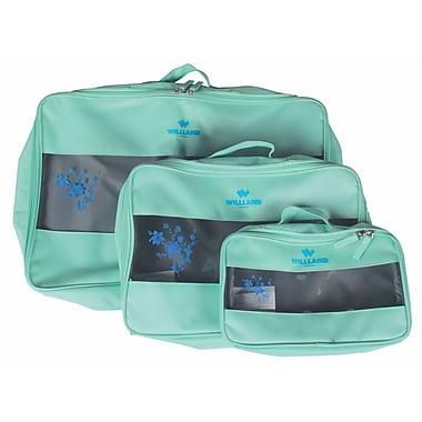 WillLand Outdoors - Cubes de rangement pour voyages, bleu poudre, paq./3 (A60859)