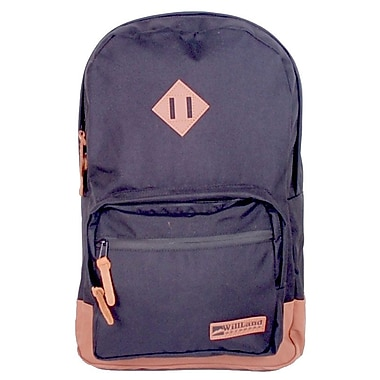 WillLand Outdoors College Luminosa Backpack, Dark Night (B60764)