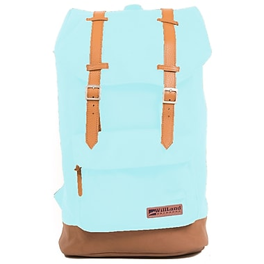 WillLand Outdoors - Sac à dos College Deliziosa, bleu poudre (B60849)