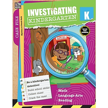 Carson-Dellosa Publishing Investigating Kindergarten [eBook]