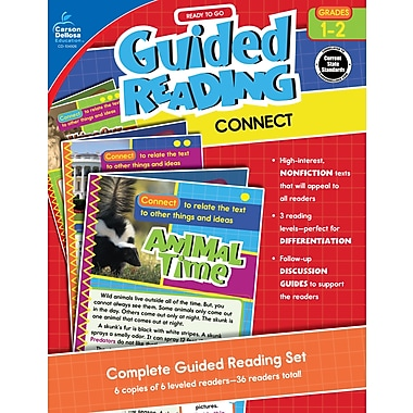 Carson-Dellosa Publishing Ready to Go Guided Reading: Connect, Grades 1 - 2 [eBook]