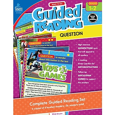 Carson-Dellosa Publishing Ready to Go Guided Reading: Question, Grades 1 - 2 [eBook]