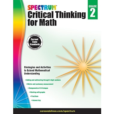 Carson-Dellosa Publishing Spectrum Critical Thinking for Math, Grade 2 [eBook]