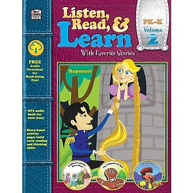 Carson-Dellosa Publishing Listen, Read, & Learn Volume 2 [eBook]