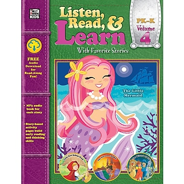 Carson-Dellosa Publishing Listen, Read, & Learn Volume 4 [eBook]