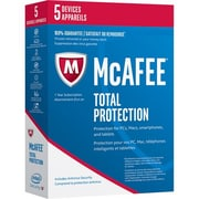 McAfee - Total Protection 2017, 5 dispositifs
