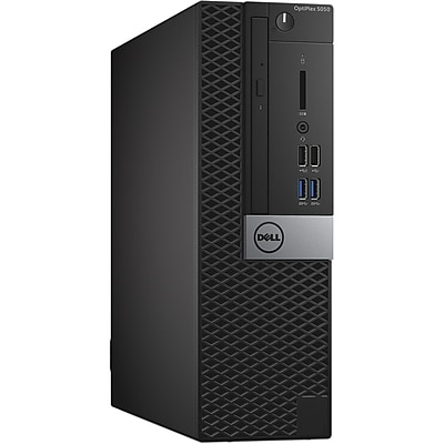 Dell™ OptiPlex P2RF6 5050 Intel Core i5-7500 128GB SSD 8GB RAM Windows 10 Pro SFF Desktop Computer
