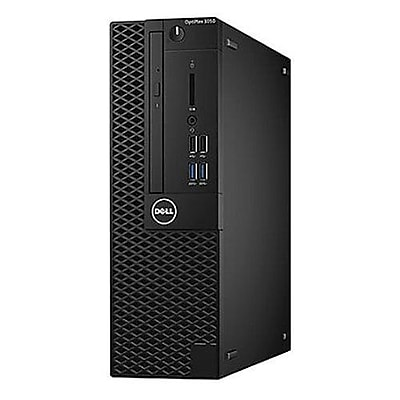 Dell™ OptiPlex 44M5R 3050 Intel Core i5-7500T 128GB SSD 8GB RAM WIN 10 Pro SFF Desktop PC with DVD-Writer