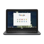 "Dell™ 6TXJ4 Chromebook 13 3380 13.3"" Laptop, LCD, Intel Celeron 3855U, 16GB SSD, 4GB RAM, Chrome OS, Black"