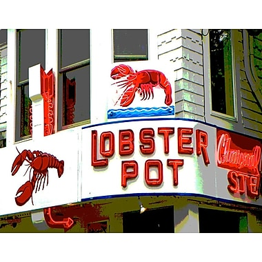 Latitude Run 'Lobster Pot' Photographic Print on Canvas