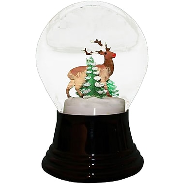The Holiday Aisle Deer Snowglobe