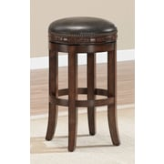 Darby Home Co Bulwell 30'' Swivel Solid Wood Bar Stool