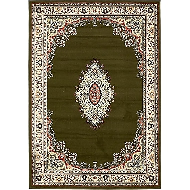 Charlton Home Anthony Green Area Rug; 2'1'' x 2'11''