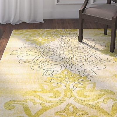 Darby Home Co Baytown Cream Area Rug; 2'2'' x 3'