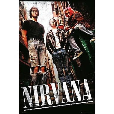 East Urban Home 'Nirvana Alley' Rectangle Graphic Art Print Poster