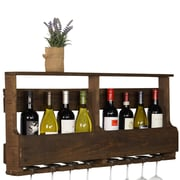 Gracie Oaks Layla Original Series 8 Bottle Wall Mounted Wine Rack