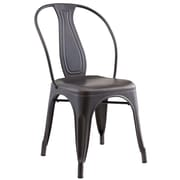 Gracie Oaks Ludovic Industrial Style Side Chair (Set of 4)