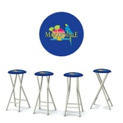 Best of Times Margaritaville 30'' Bar Stool w/ Cushion (Set of 4)