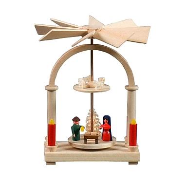 The Holiday Aisle Dregeno Nativity Mini Pyramid