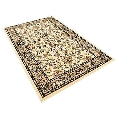 Astoria Grand Concord Ivory Area Rug; Runner 3' x 16'5''