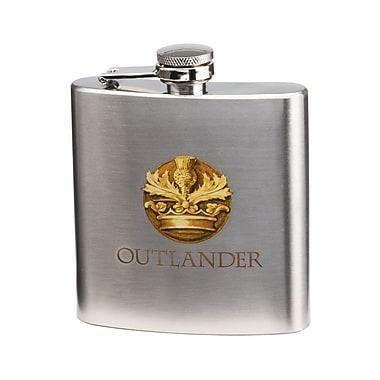 Vandor Outlander 6 Oz. Stainless Steel Flask