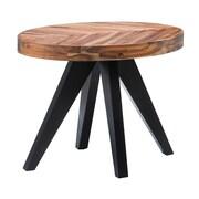 Union Rustic Serita Oval End Table