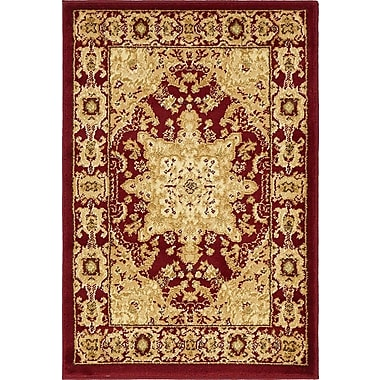 Astoria Grand Onsted Red Area Rug; 7' x 10'