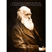 Ivy Bronx 'In the Long History Charles Darwin' Graphic Art Print on Canvas