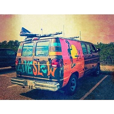 Ivy Bronx 'Beach Van at Sunset' Photographic Print on Canvas