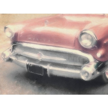 Red Barrel Studio 'Copper Buick' Graphic Art Print on Canvas